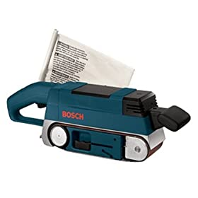 Bosch 1274DVS 6.6 Amp 3-Inch by 21-Inch Variable Speed In-Line Belt Sander with Cloth Dust Bag