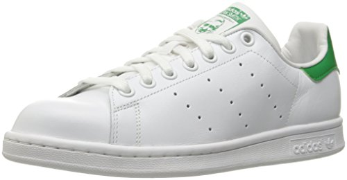 Adidas Performance Women's Stan Smith W Fashion Sneaker, White/White/Fairway, 8 M US