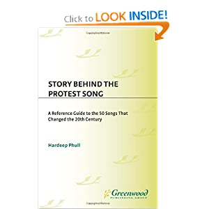 Amazon.com: Story behind the Protest Song: A Reference Guide to ...
