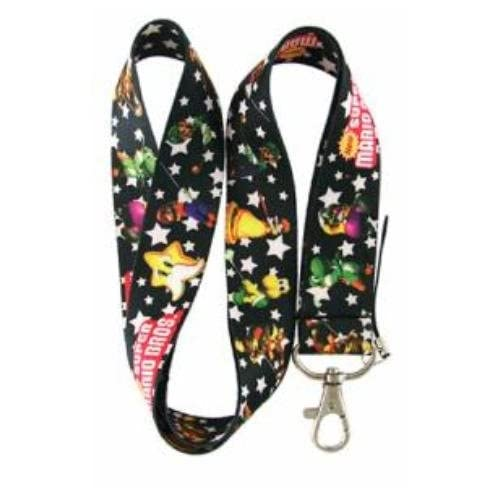 New Super Mario Bros. Lanyard Keychain Holder (Mario, Luigi, Koopa
