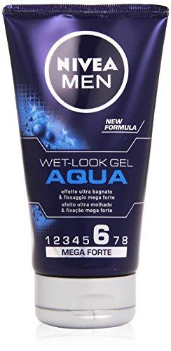 Nivea Men - Gel Effetto Bagnato, 6 Mega Forte -  150 ml