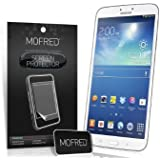 MOFRED® 6 Pack Screen Protector Value Pack For Samsung Galaxy Tab 3 7.0 - 7 inch Tablet with Cleaning Cloth And Application Card