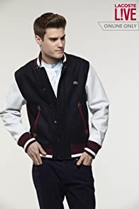 L!VE Varsity Jacket with Leather Sleeves