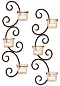 San Miguel Set of 2 Classic Wall Sconces