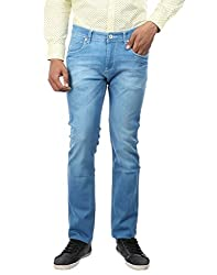 Oxemberg Slim Fit Men's Ice Blue Denim