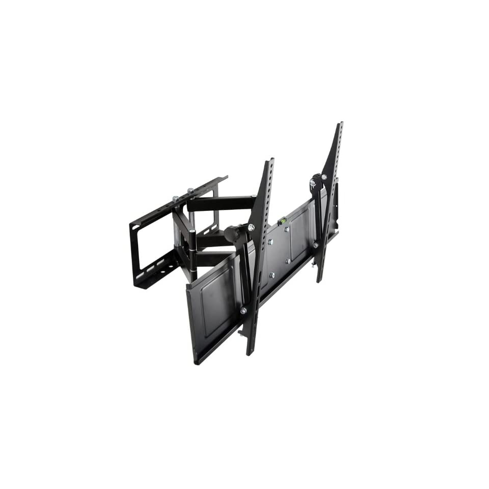 Loctek 42  65 Articulating Low Profile Wall Mount Bracket for LED LCD Plasma TV, Angle Free Adjustable Tilt and Swivel, Up To 17 Inch Long Arm, Max. 110 lbs, PSW772