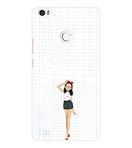 EPICCASE Freeky dress Girl Mobile Back Case Cover For Xiaomi Mi Max (Designer Case)