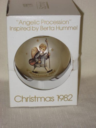 "1982 "" Angelic Procession "" Christmas Ornament by Berta Hummel"