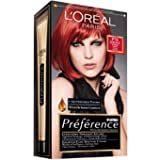 L'Oreal Paris Feria Hair Color P76 Spice Power- Intence Pure Red