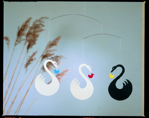Flensted Mobiles Nursery Mobiles, Swan Fantasy