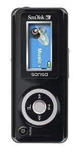 SanDisk Sansa c140 1 GB MP3 Player (Black)