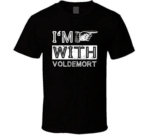Im with Voldemort Funny Stupid Couple Costume Halloween T Shirt