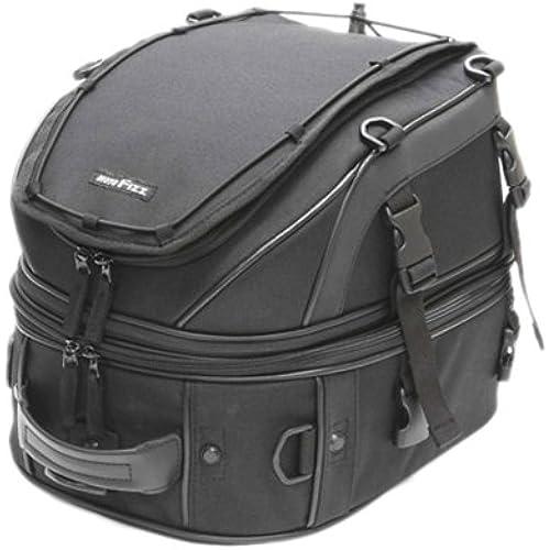 타낙스(TANAX) W데크 씨트 백 《모토후즈》(MOTOFIZZ) 블랙 MFK-139(가변 용량18-28ℓ)-MFK-139 (2011-05-31)