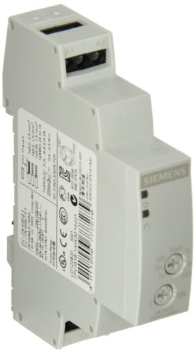 Siemens 7PV1518-1AW30 Timing Relay, On Delay Function, 0.05s-100 h Time Setting Range, 12-240VAC/DC Control Voltage - Siemens Corp.