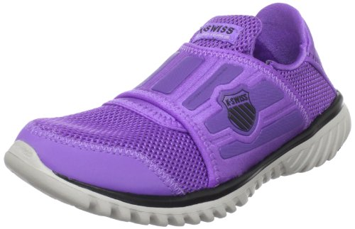 K-Swiss Women's Blade-Light Recover Shoe,Neon Violet/Black/Gull Gray,10.5 M US