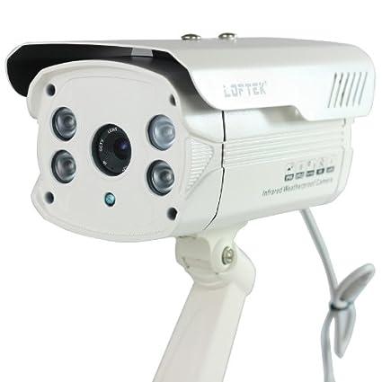 Loftek-HDIS-CCD-600TVL-Bullet-CCTV-Camera