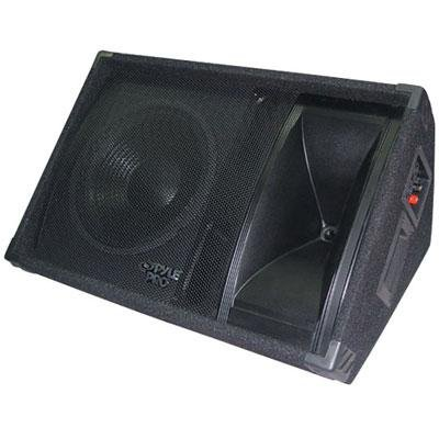 Pyle-Pro PASC12 12-Inch 600 Watt Two-Way Stage Monitor Speaker System