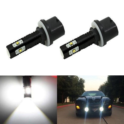 JDM ASTAR Extremely Bright Max 50W High Power 880 890 892 CREE LED Bulbs for DRL or Fog Lights, Xenon White (Cadillac Escalade Fog Lights 2002 compare prices)
