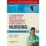 img - for Leadership Roles and Management Functions in Nursing: Theory and Application (8th Edition) [Paperback] book / textbook / text book
