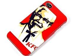 ケンタッキーフライドチキン カーネルサンダー iPhone4カバーケース iPhone4Sカバーケース