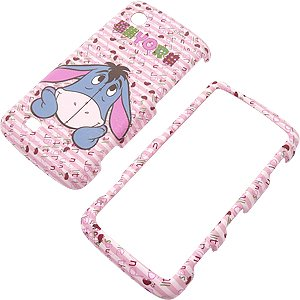 Disney Shield Protector Case for LG Chocolate Touch VX8575, Eeyore Pink
