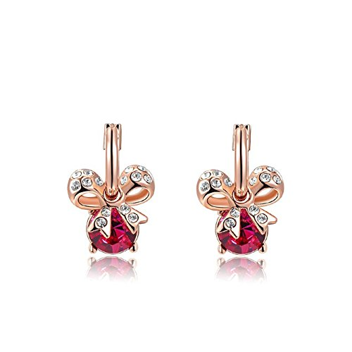 bling-jewelry-womens-butterfly-bow-earrings-charm-swarovski-red-hoop-earrings-18ct-rose-gold