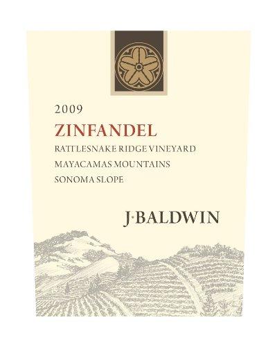 2009 J Baldwin Rattlesnake Ridge Zinfandel 750 Ml