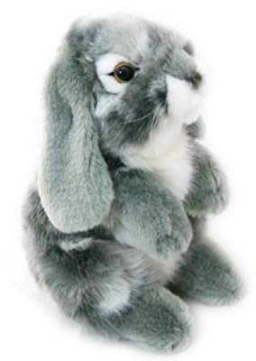 Living Nature Small Sitting Lop Eared Rabbit