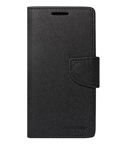 Metly Wallet Cover For Nokia Lumia 720 color Black