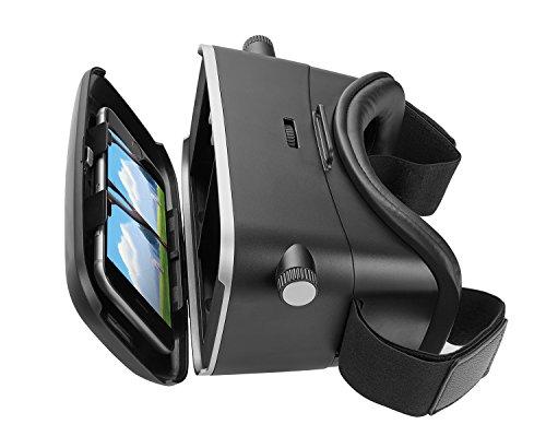 Trust Urban Exos Vetri Realtà Virtuale 3D per Smartphone, Nero
