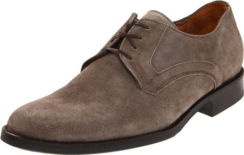 Johnston & Murphy Men's Headley Plain Toe Oxford,Taupe Italian Suede,10 M US
