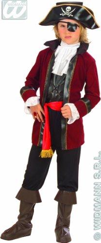 Widmann WDM55597 - Costume Per Bambini Pirata dell'Isola del T (140 cm/8-10 Anni ), Multicolore, XS