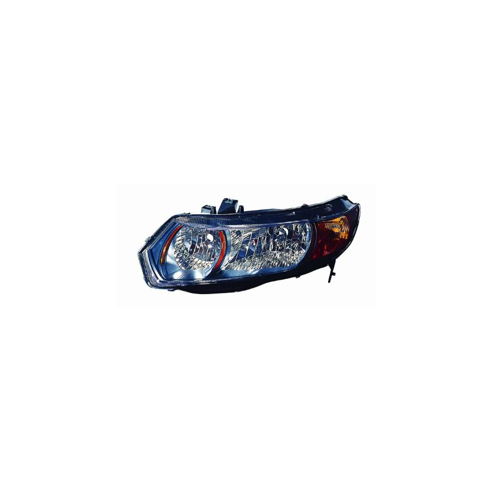 Depo 317 1148L UC2Y Honda Civic Driver Side Replacement Headlight Unit  without Bulb fb52c414eba