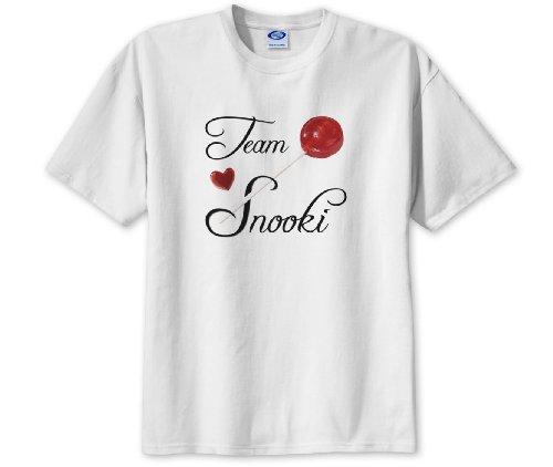 TEAM SNOOKI Jersey Shore Fan Medium White Dye-Sub T-Shirt
