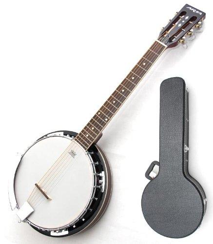Aria (Aria) SB-10G:Guitar Banjo 6 string guitar banjo REMO banjo...