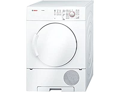 Bosch WTC84100IN Condensed Galvanised Drum Dryer (7 Kg, White)