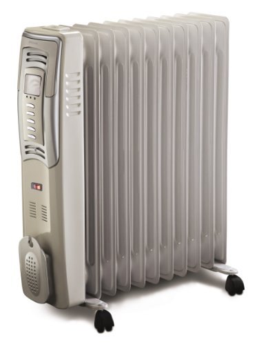 Bionaire 2500w 11 Fin Oil Filled Radiator with Digital Thermostat