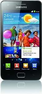 Samsung Galaxy S II (i9100) DualCore Smartphone (10.9 cm (4.3 Zoll) Super-Amoled Plus Display, Android 2.3, 8 MP Full-HD Kamera, 2 MP Frontkamera) [EU-Version] schwarz