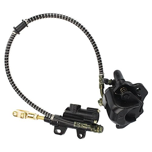 Jinkaye Rear Brake Assembly Master Cylinder Caliper for Taotao ATV Quad 50cc 70cc 90cc (Ssr 125 Rear Brake Assembly compare prices)