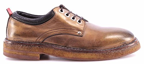 Scarpe Donna MOMA 72502-6E Ghost Bronzo Pelle Para Vintage Made Italy Nuove New