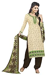 VSS Collections Women's Synthetic Unstitched Dress Material(1053,Multi-Color)