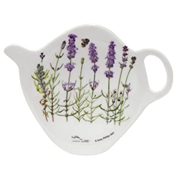Lavender Tea Bag Caddy
