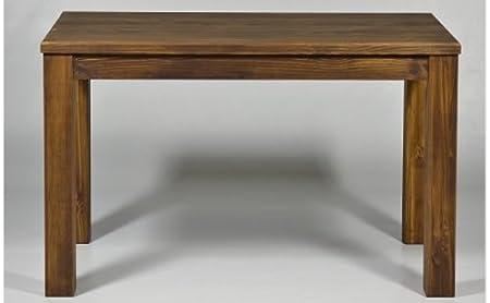 Tavolo da pranzo in legno di pino massiccio tavolo 160x 80cm in rovere antico