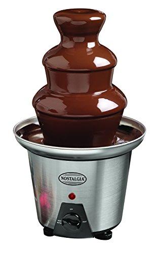 Nostalgia CFF960 3-Tier 1.5-Pound Capacity Stainless Steel Chocolate Fondue Fountain (Fondue Tier compare prices)