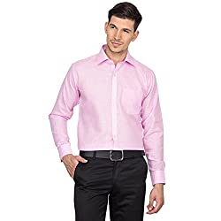 Arihant Men's Cotton Plain / Solid Formal Shirt (AR73070142)