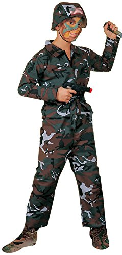 Forest Camo Soldier Costume