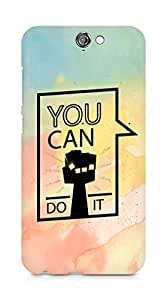 Amez You can Do It! Back Cover For HTC One A9