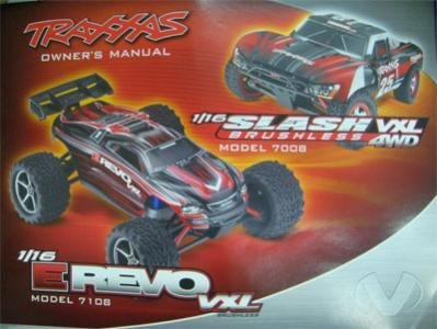 Traxxas Owners Manual 1 16 SLH - E-Revo VXL