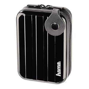Hama Hardcase Metal Style Kameratasche 60 H schwarz