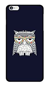 """Humor Gang Stoned Owl Printed Designer Mobile Back Cover For """"Apple Iphone 6 PLUS-6s PLUS"""" (3D, Glossy, Premium Quality Snap On Case)"""